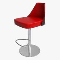 stool design 3d 3ds
