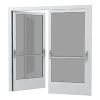 Hotel Double Glass Doors