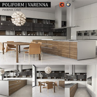 3d kitchen varenna phoenix model