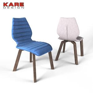 3d max chair kare
