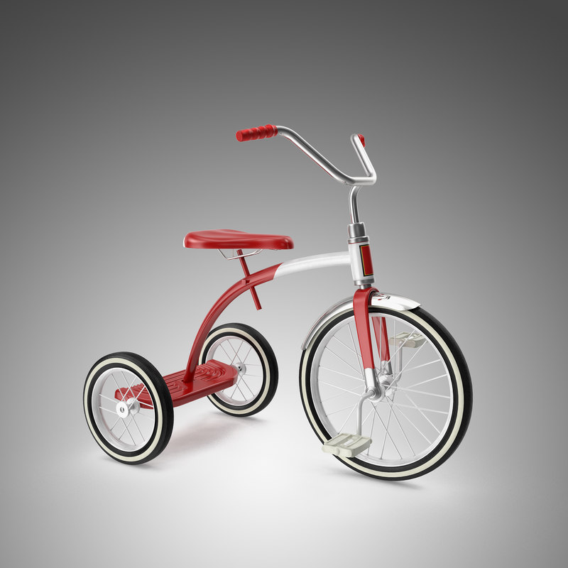 3d model tricycle cycle