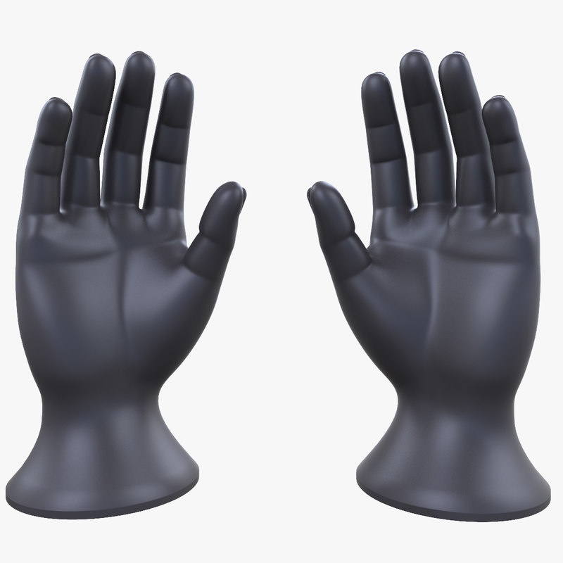 hands lay figure 3ds