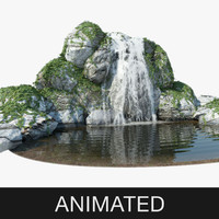 Waterfall Animated