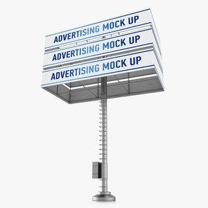 billboard advertising 3d 3ds