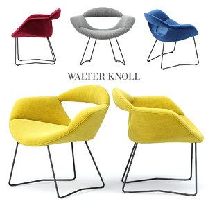 rumi chair walter knoll 3d max