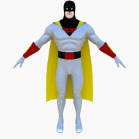 space ghost 3d max