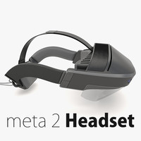 meta 2 virtual reality 3ds