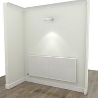 3d radiator walls