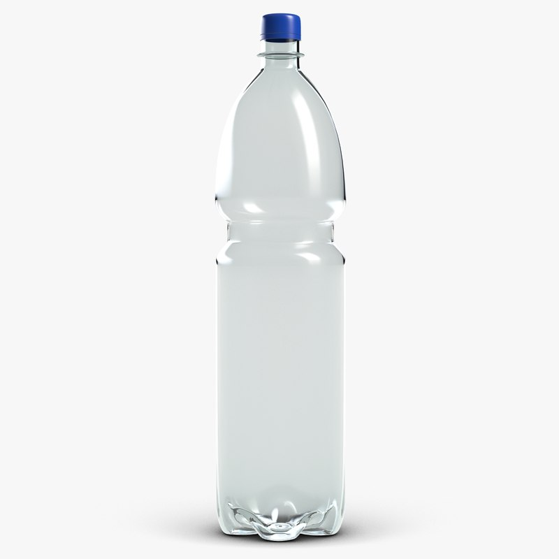 3d bottle 1 5 liters model