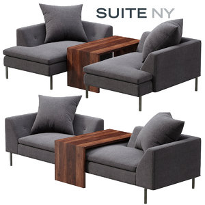 suite ny fratelli chair 3d obj