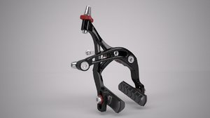 3d bicycle brake calliper model