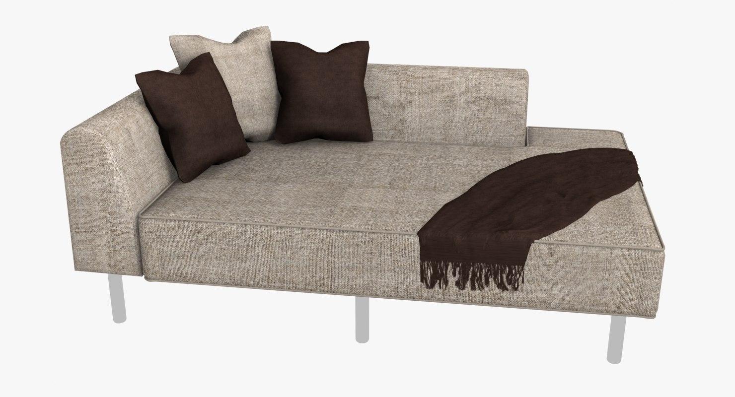 max modern chaise sofa