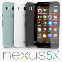 google nexus 5x 3d model