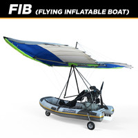 Flying Inflatable Boat