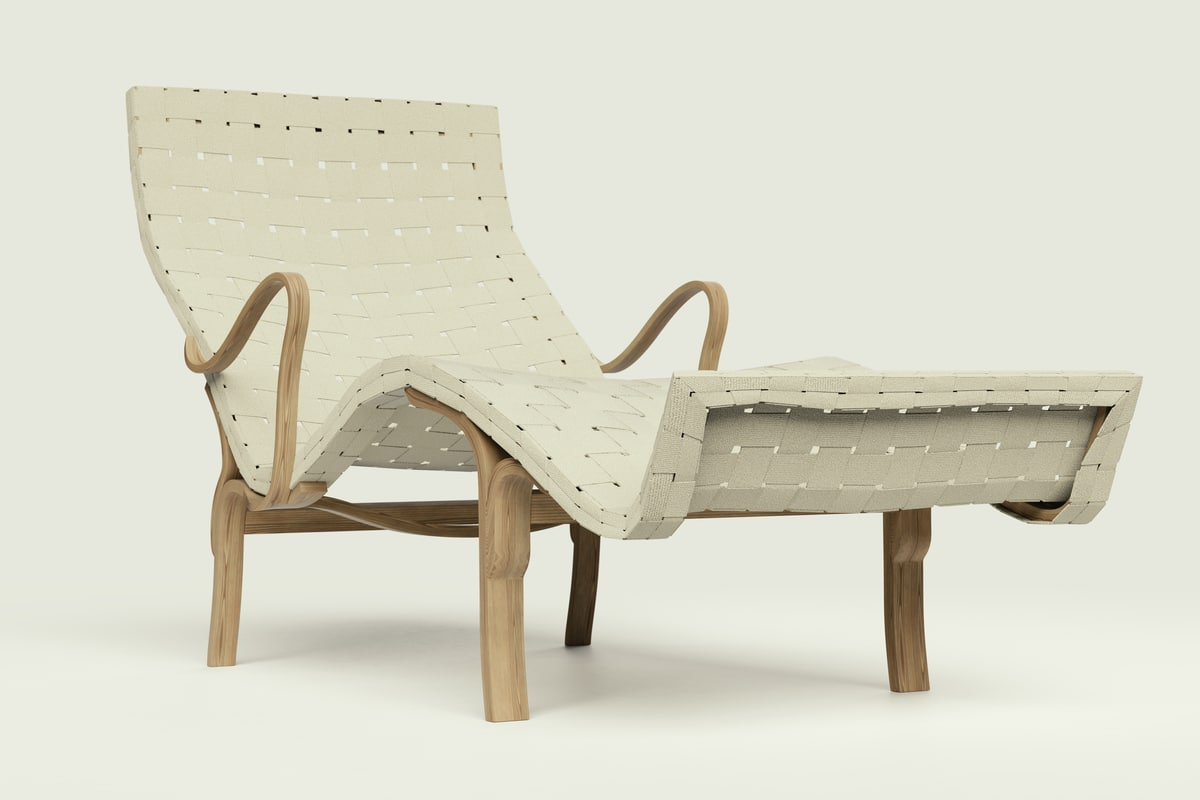 pernilla lounge chair 3ds