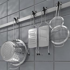 max kitchen accessories set 3