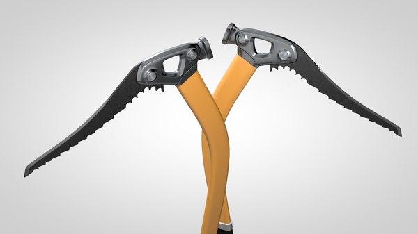3d model ice tool