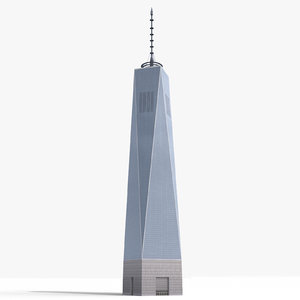 3d freedom tower building model