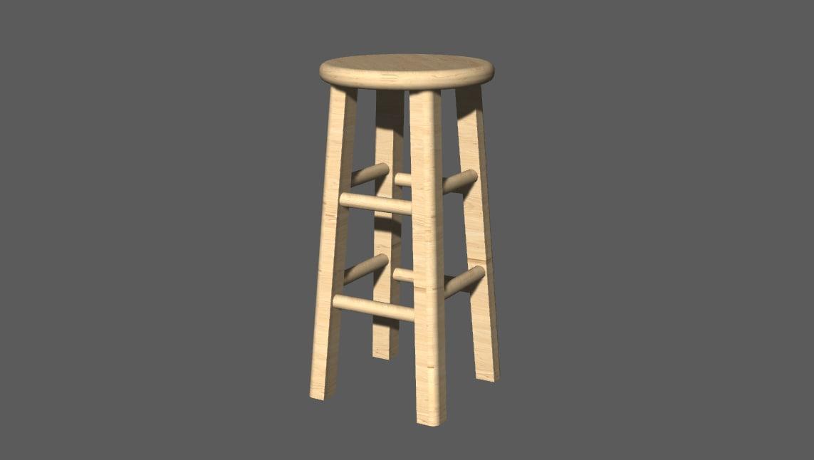 stool bim bricscad dwg free