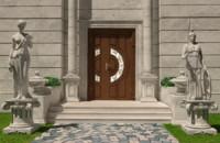 max luxury entrance sculptures door