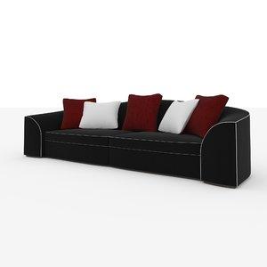 3d sofa smania edward