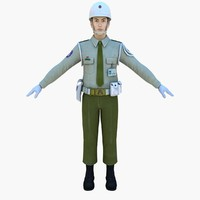 3d model force military