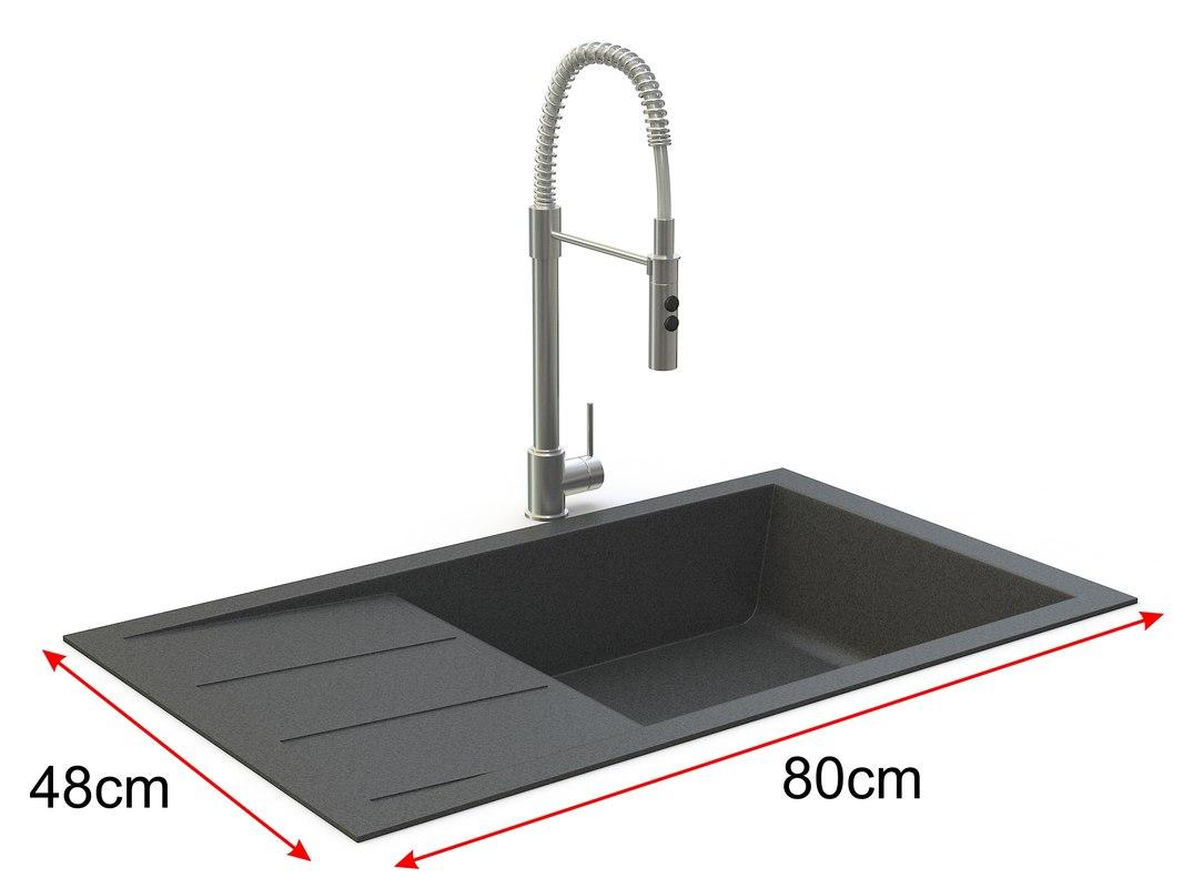 Sink Tap Modell : D model sink tap