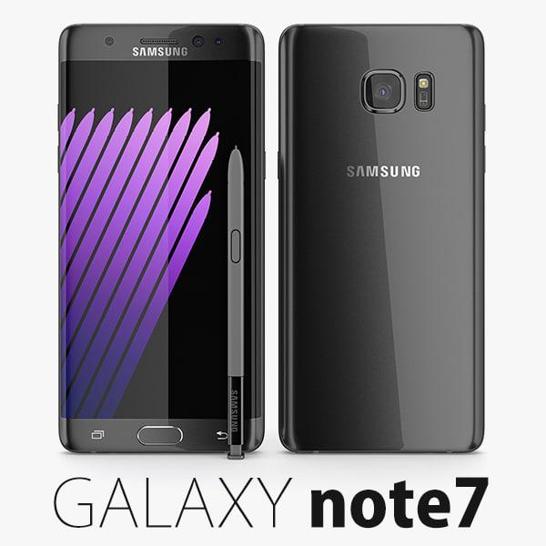 samsung galaxy note 7 3d max