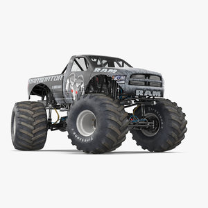 monster truck raminator rigged max