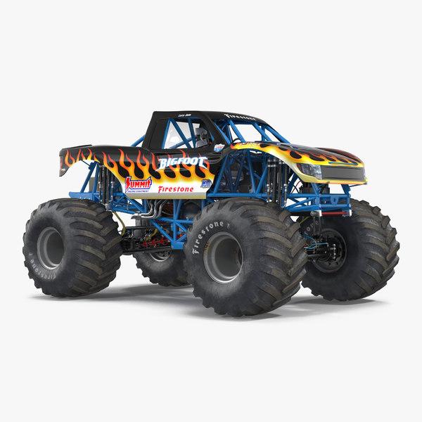 3ds monster truck bigfoot