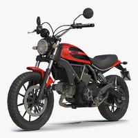 Motorcycle Ducati Scrambler Sixty2