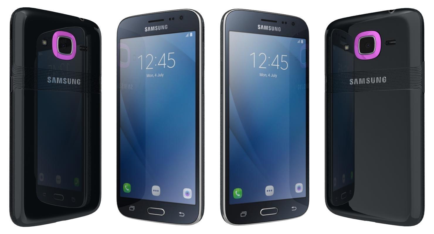 3d model samsung galaxy j2 2016