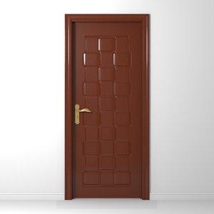 3d model of interior door