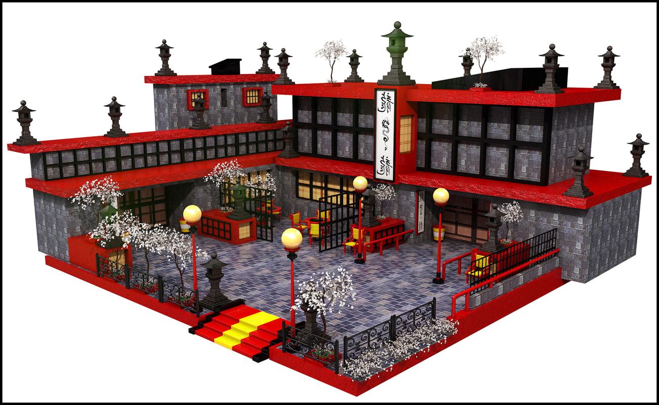 3d max building unity for 3d max building
