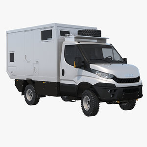 4x4 motorhome 3d max