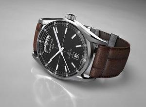 wrist watch 3d obj