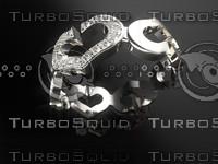 3d ring heart model