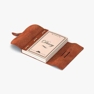 3d model note book