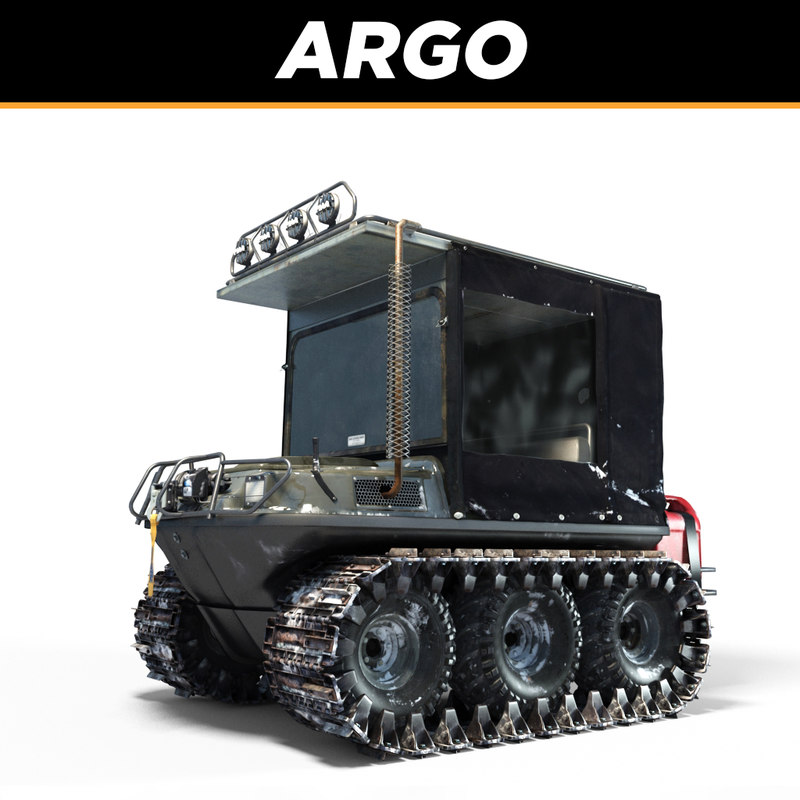 3d model argo vehicles