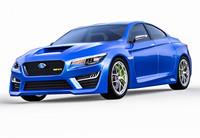 3d subaru car model