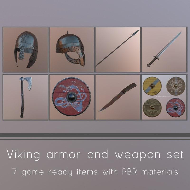 viking helmet 3ds