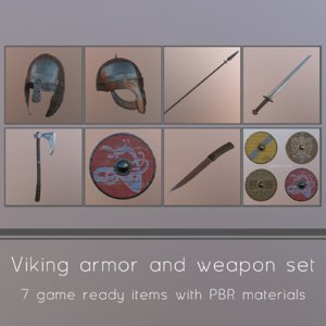 viking helmet 3ds