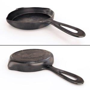 cast iron skillet 3d model