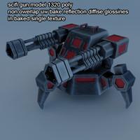 scifi turred gun 1