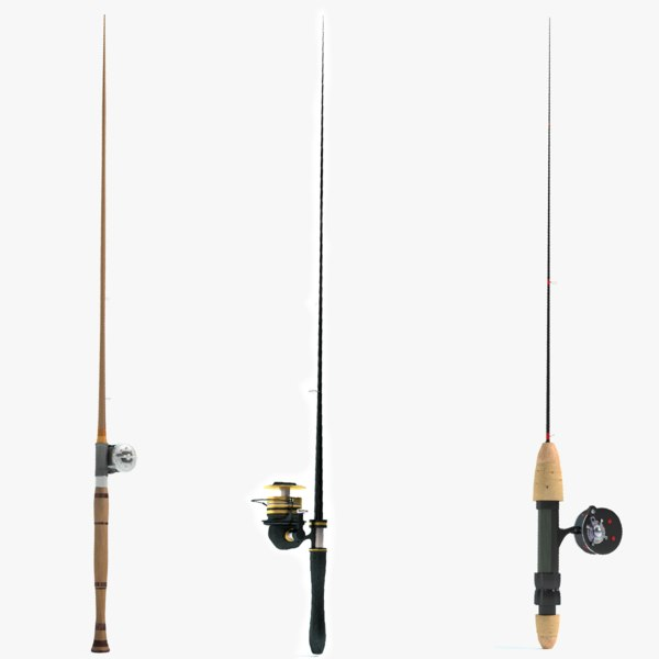 3d max fishing pole