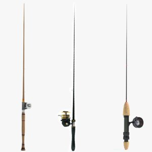 3d max fishing pole