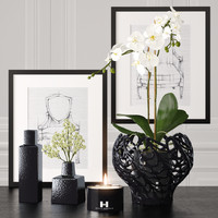 decoration set 3d model