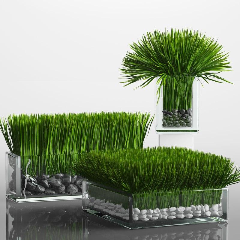 fbx grass arrangement