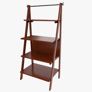 3d model of magazine stand