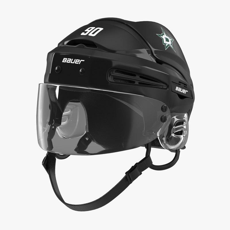3d hockey helmet dallas stars